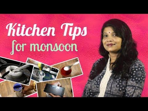 10 Kitchen Tips for Monsoon - १० किचन टिप्स फॉर मानसून