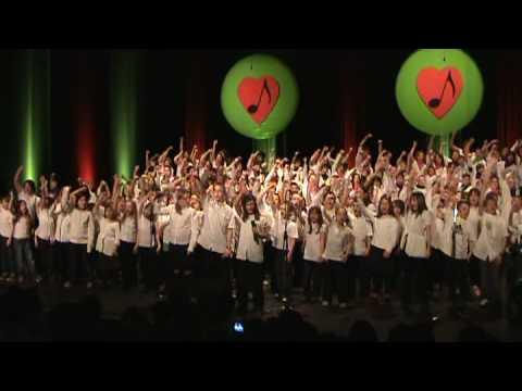Chorale d'enfants - Star Académie 2009- 1000 coeurs debout