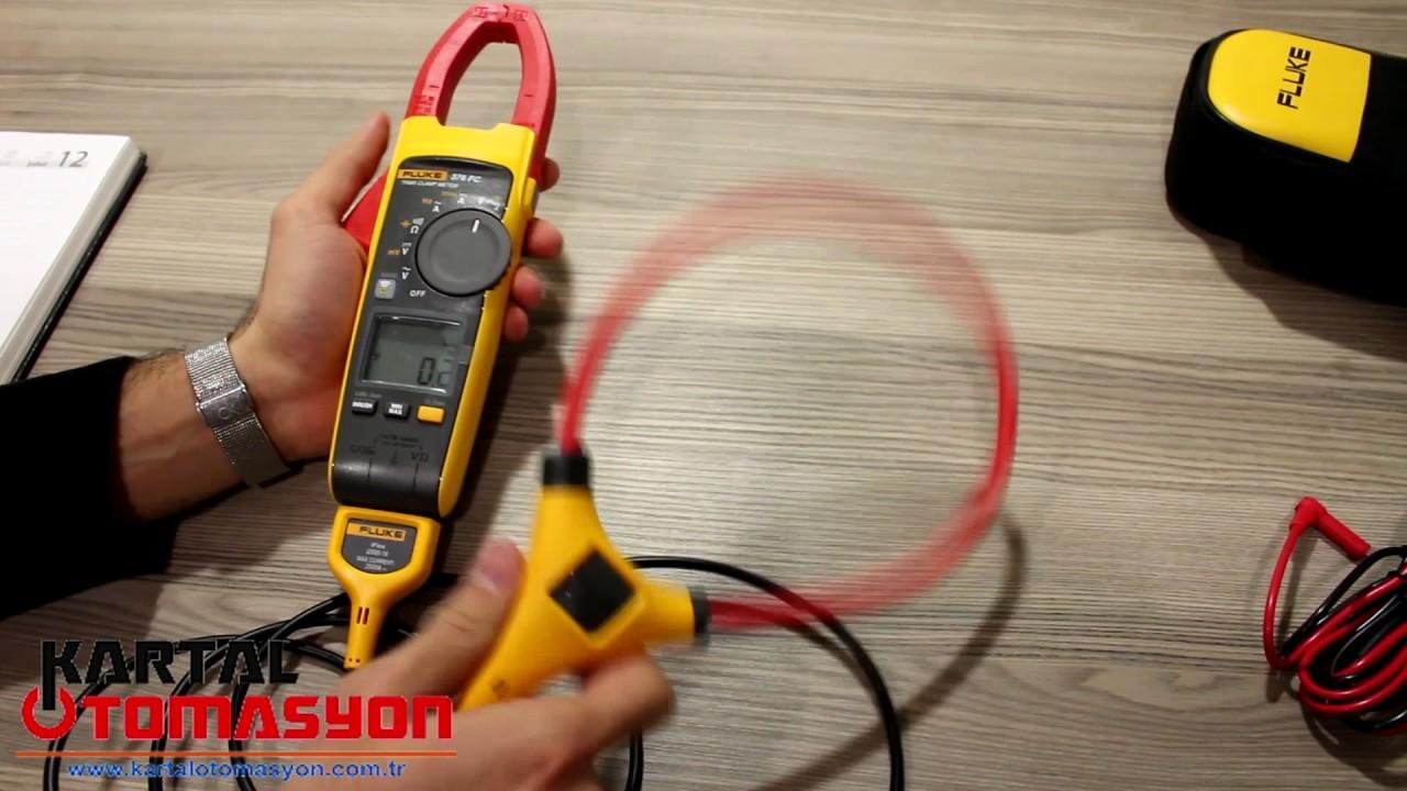 FLUKE 376 FC Wireless Pensampermetre iFlex