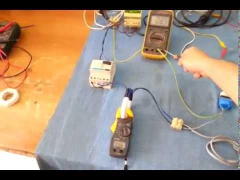 Funzionamento Interruttore Differenziale (Salvavita) e come misurare la Corrente Dispersa