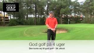 24 afsnit God golf på 4 uger
