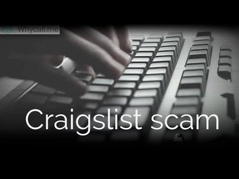 Craigslist scam report