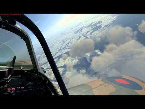 IL-2 Cliffs of Dover - Ace In A Flight - Flying In Ambush (Spitfire Mk.Ia) [E]