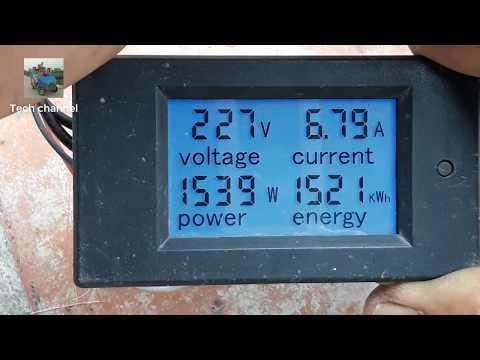 TECH - Cách Lắp đồng Hồ đo Công Suất AC