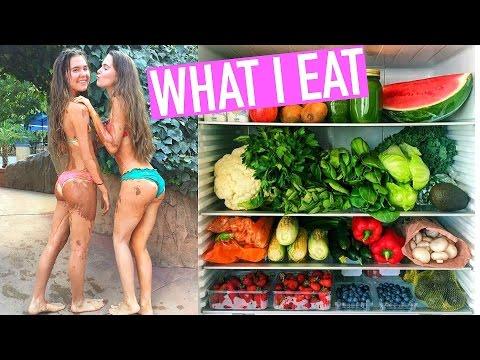 WHAT I EAT IN A DAY  Birthday vlog  Nina and Randa