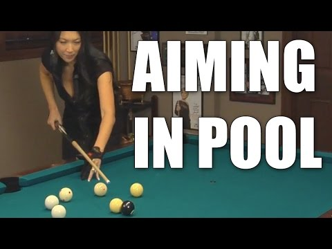 Aiming In Billiards And Pool With Jeanette Lee The Black Widow