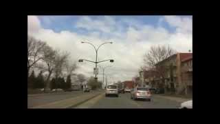 Driving In Montreal - From Buies Street To Pie-ix And Henri-bourassa Intersection