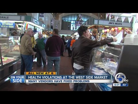 Health violations at Cleveland's West Side Market