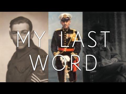 My Last Word