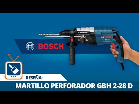 ¿Usar rotomartillo o martillo perforador? Conoce el Martillo perforador SDS Plus GBH 2-28 D Bosch