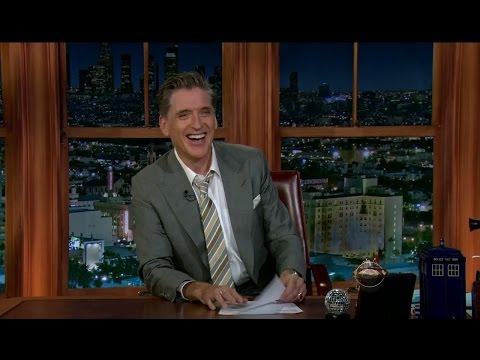 Late Late Show with Craig Ferguson 2/1/2013 Joe Theismann, Ariel Tweto
