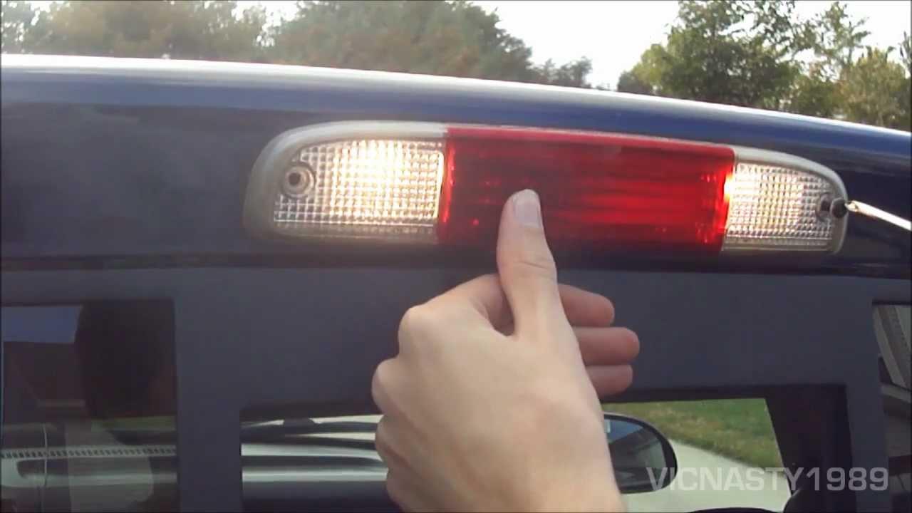 How Install License Plate Light Bulb