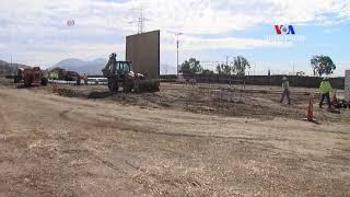 ԱՌԱՆՑ ՄԵԿՆԱԲԱՆՈՒԹՅԱՆ  ԱՄՆ Մեքսիկա սահմանին կառուցվող պատի նախատիպեր են կառուցվում