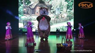 Кнопки - Маша и Медведь I Зимний отчетный концерт 2016 I Dance Studio Focus