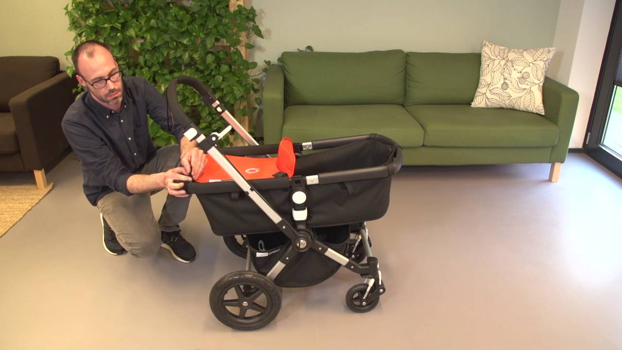 Bugaboo Stroller How To Fold Bugaboo Cameleon³ Demo Assembly With Bassinet