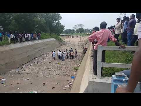 River coming ,,, Our farmers are welcoming the river with poojai
