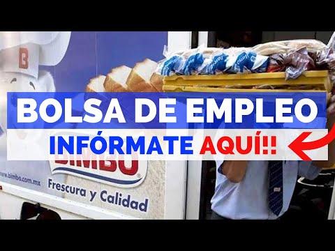 🎯 EMPLEOS BIMBO | OFERTA DE EMPLEO | BUSCO TRABAJO 2019