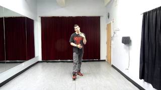 "House Dancing for Beginners: ""The jack"": ""The Skate"""