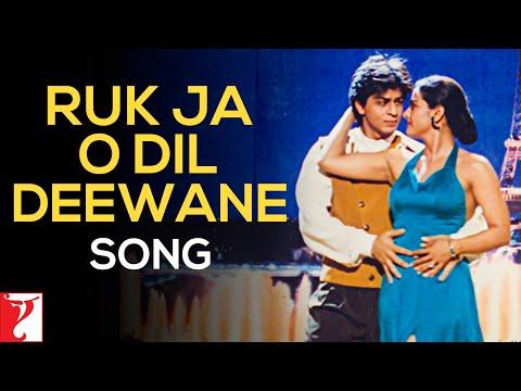 Ruk Ja O Dil Deewane Song | Dilwale Dulhania Le Jayenge | Shah Rukh Khan | Kajol | Udit Narayan