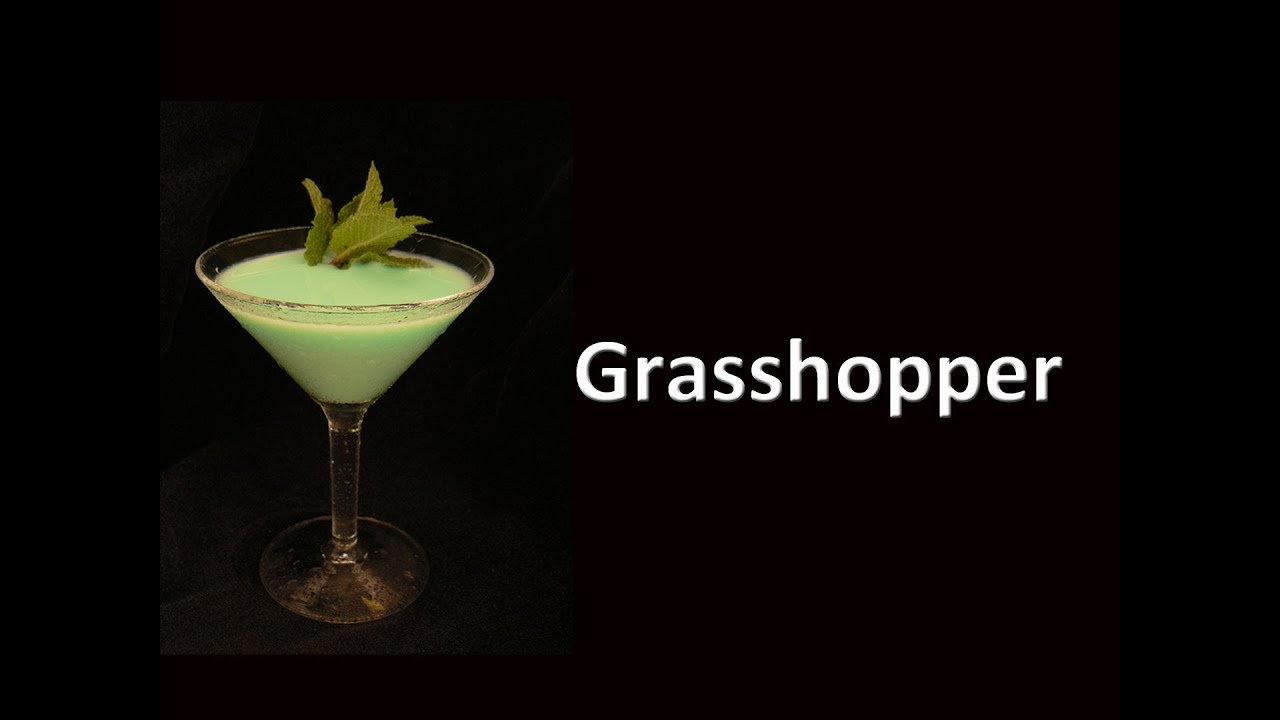 what is in a grasshopper drink