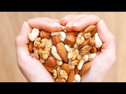 Nüsse verlangsamen Gewichtszunahmen und schützen vor Herzkrankheiten