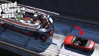 GTA 5|ROBO DE BARCO DE MILLONES DE DOLARES EN GTA V|EdgarFtw