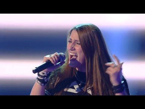 The Voice IT 2015 Ira Green — «Black Dog» Blind Auditions | Голос Италии 2015. Слепые прослушивания