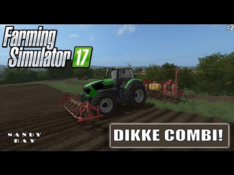 """DIKKE COMBI!"" FarmingSimulator 17 Sandy Bay #2"