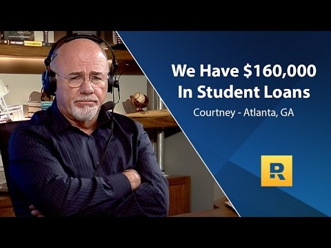 We Have $160,000 In Student Loans
