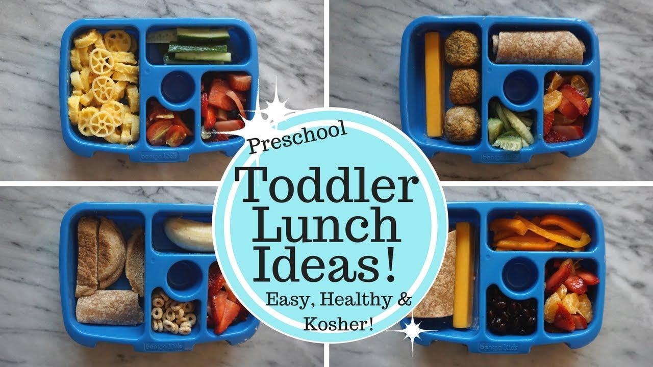 Toddler Lunch Ideas! Bento Box - Healthy, Easy & Kosher!