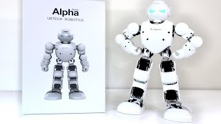 UNBOXING & LETS PLAY! - Alpha 1 Pro - Humanoid Entertainment Robot Review - UBTECH