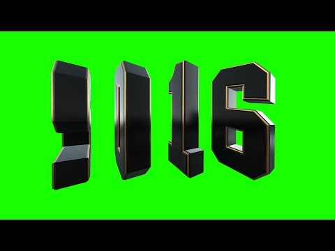 2016 CINEMATIC edition green screen free royalty footage