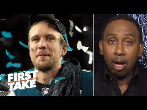 Nick Foles will be a bigger Philly legend than Carson Wentz - Stephen A. | First Take