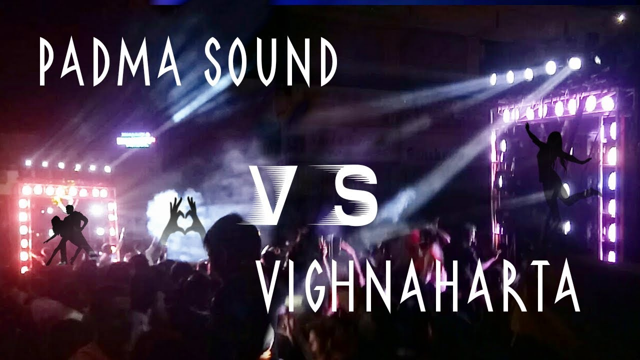 🙏 Padma sound 👊Vs Vighnaharta 🔱 Gandhi Chowk circle Dharwad