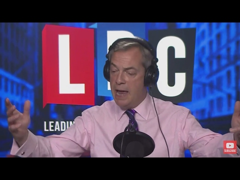 The Nigel Farage Show: Juncker/Brexit. Live New York LBC March 2nd 2017