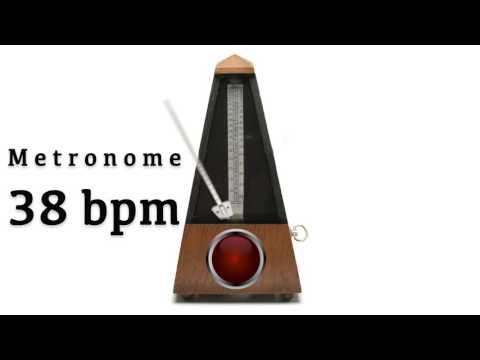 Metronome 38 bpm 🎼