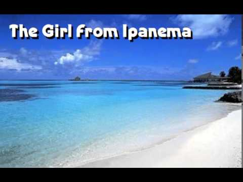 KARAOKE The Girl From Ipanema / Garota de Ipanema - Antônio Carlos Jobim - Lyrics