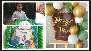ZAKARIYYA'S SHOW| BIRTHDAY CELEBRATIONS| FAMILY FUN| FAMILY GAMES| CAKE CUTTING| OPENING PRESENTS