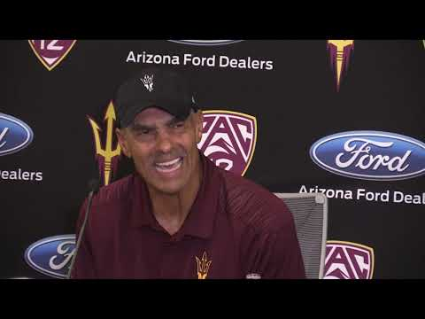 Herm Edwards following ASU loss to Stanford (10/18/2018)