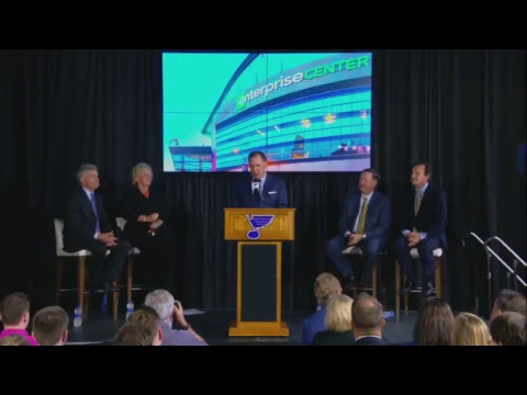 Blues announce new building naming rights partner