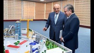 Президент Узбекистана прибыл в Сурхандарьинскую область