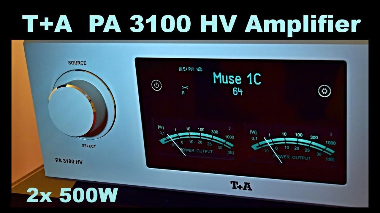T+A PA 3100 HV amplifier Verstärker T+A PS 3000 HW power supply MP 3100 HV,  Reed Muse 1C