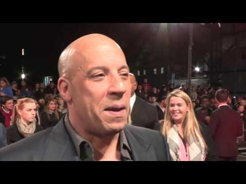 The Last Witch Hunter – European Premiere - Vin Diesel, Michael Caine, Rose Leslie, Breck Eisner