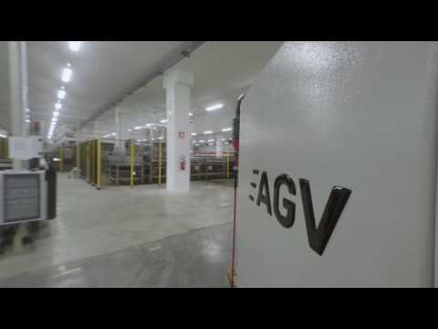 System Logistics AGV - Automated Guided Vehicles
