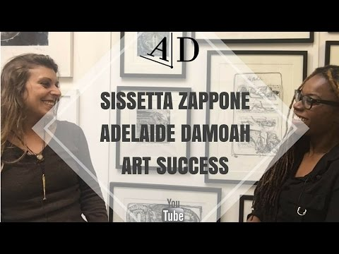 Adelaide Damoah in Conversation with Sissetta Zappone: Art Success