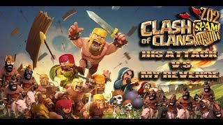 clash of Clans His Attack V.S. My Revenge Part 4 702 Spam Musubi