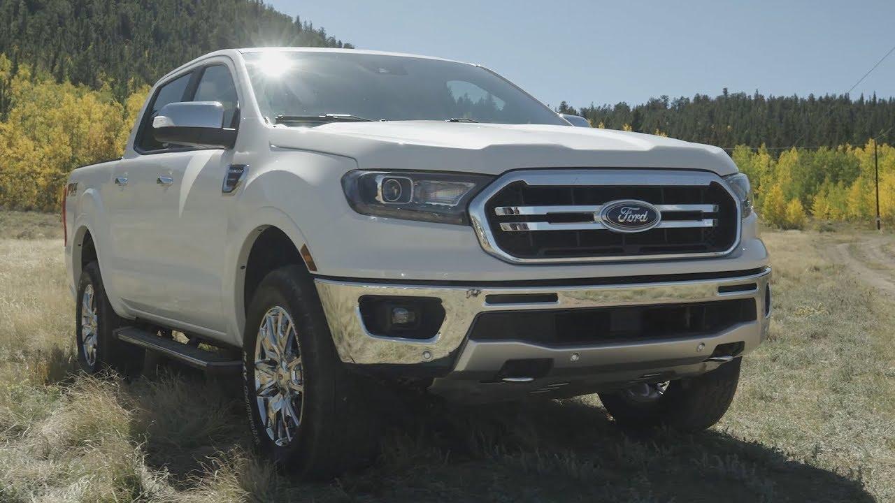 2019 Ford Ranger Lariat Oxford White Youtube