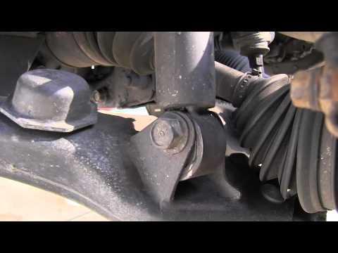 Toyota Tacoma Front Suspension Strut Squeak - YouTube