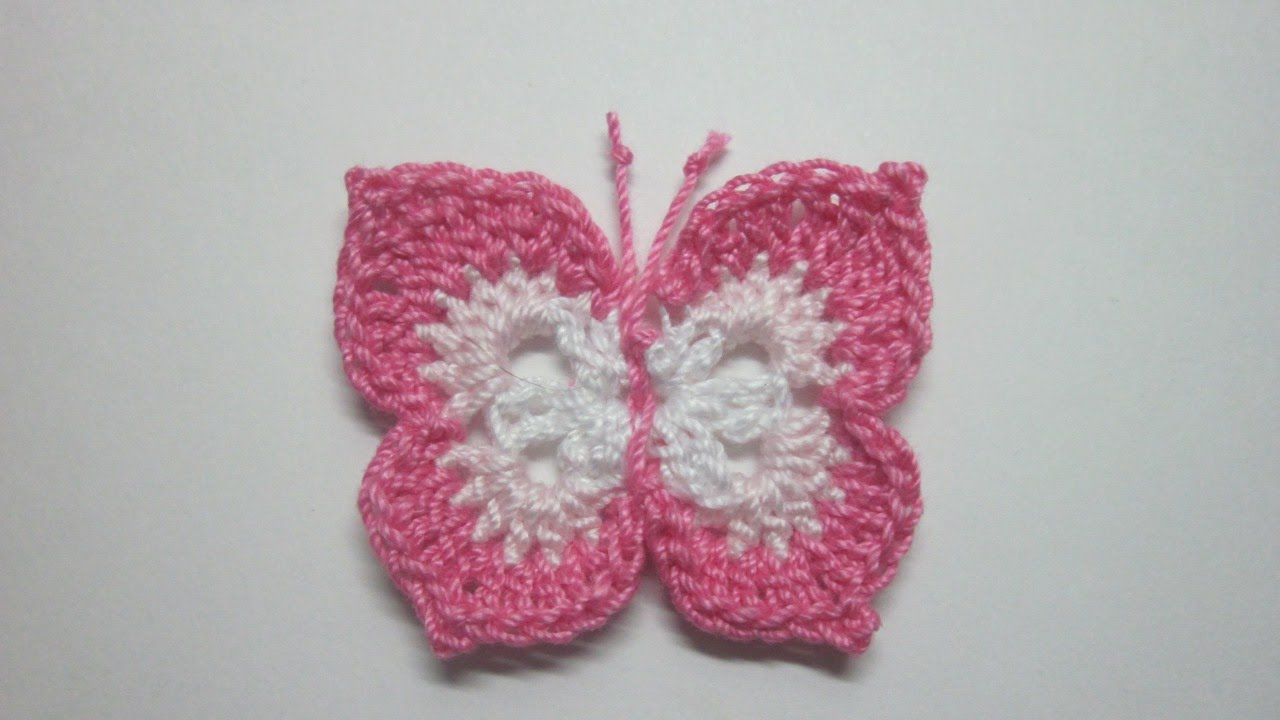How To Make a Lovely Crochet Butterfly - DIY Crafts Tutorial ...