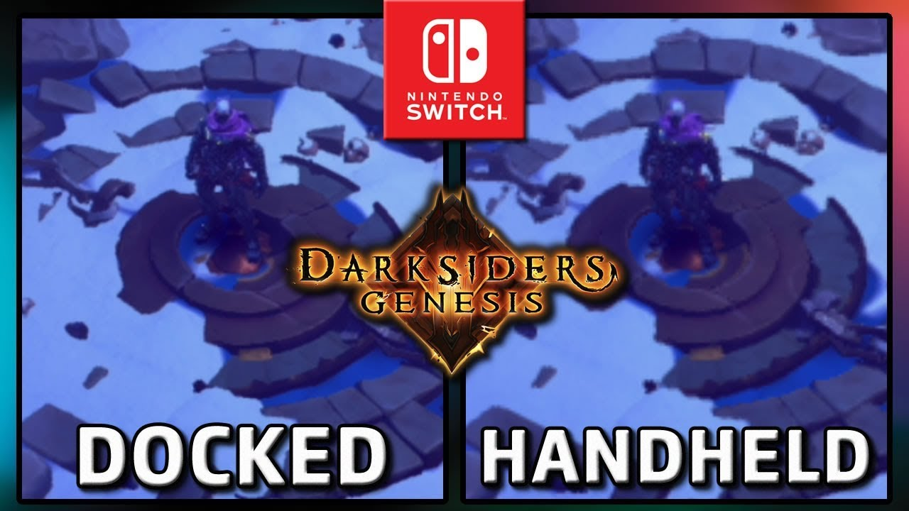 Darksiders Genesis | FRAMERATE Docked & Handheld on Nintendo Switch